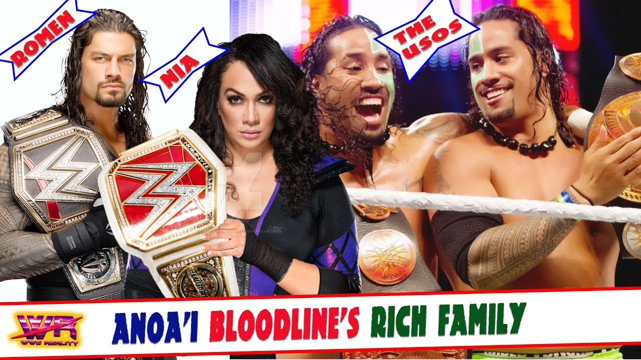 Top 14 wrestlers from Anoa'i Bloodline's Rich family in wwe History - YouTube