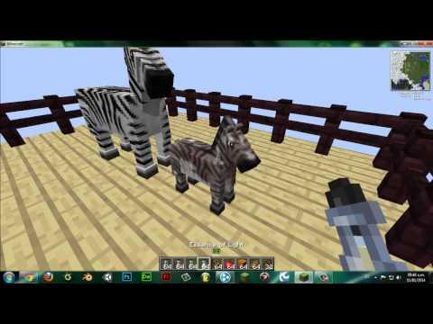 Minecraft 1.5.2 Mo' Creatures || Crianza de Caballos || Primeros Pasos (Caballo Vaca, Pegaso)
