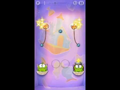 Cut The Rope Time Travel Level 1-5 Walkthrough | The Middle Ages Level 1-5 Walkthrough