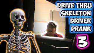 Drive Thru Skeleton Driver Prank 3!