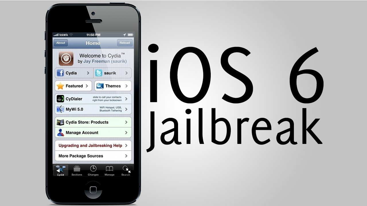 jail break iphone 6 jailbreak ios 6 semi untethered iphone 3gs iphone 4 ipod 2766