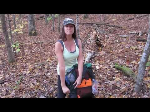 Backpacking Hiking Gear Backpack Review Gossamer Gear G4 - YouTube