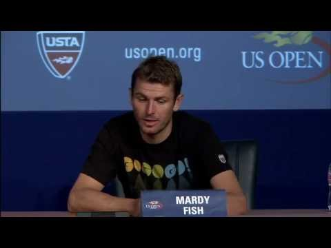 2011 US Open Press Conferences:Mardy Fish (First Round)