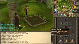 Runescape How to Farm Herbs