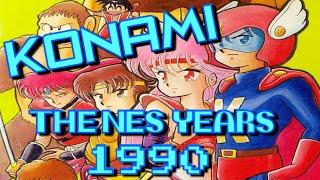 KONAMI: The NES Years 1990 ( Feat. Lucious T, Dali Popka, ReplayAbility, DubiousGaming, Miketendo )