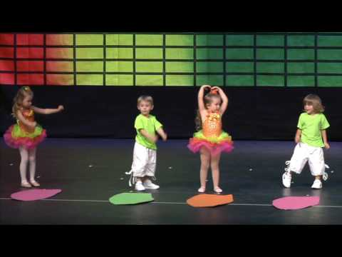 Mason and Madison dance recital spring 2016 , they start at 11:47