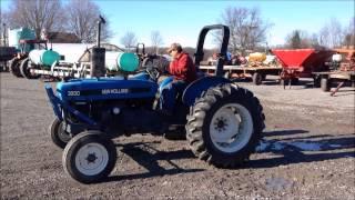 Orbitbid.com - MICHIGAN: Karnemaat Farms- New Holland 3930 tractor- Item #1-403396