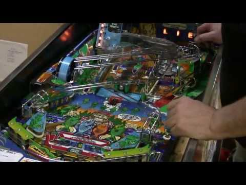 #182 Williams FISH TALES Pinball Machine And A WPC Board Tip!  TNT Amusements