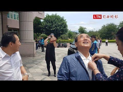 王金平到台東仰望七彩日暈:由我領導台灣