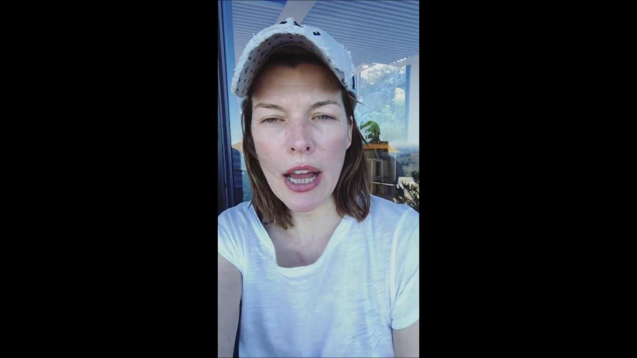 Milla Jovovich Instagr... Milla Jovovich Instagram