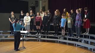 190511 Rehearsal Esto les Digo (Lange) -- Young Musicians Chorus