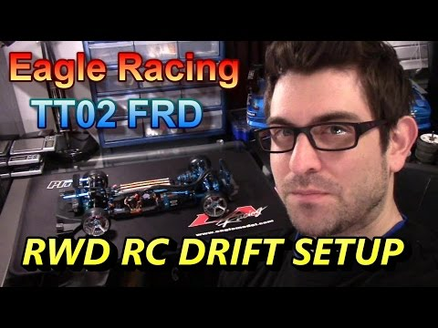 NEW!!! TT02 FRD RWD Rc Drift SETUP