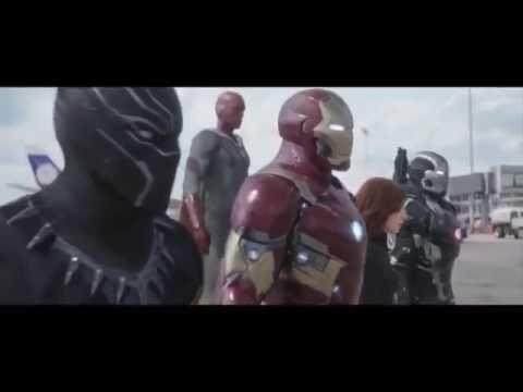 "Captain America Civil War - ""Point Of No Return"" By Starset"