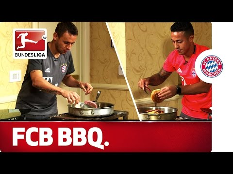 Bayern's Burger Battle - Thiago and Rafinha's Cook-off Challenge