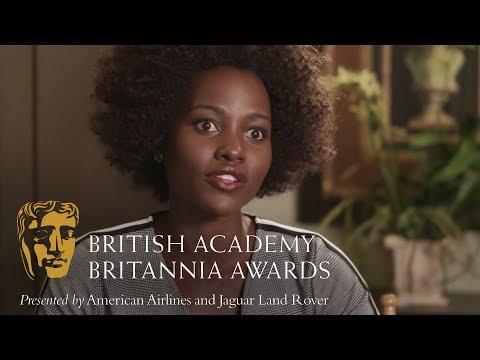 Lupita Nyong'o on Steve McQueen  Britannia Awards 2018