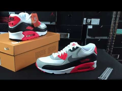 Nike Air Max 90 Infrared 2015 Unboxing Review
