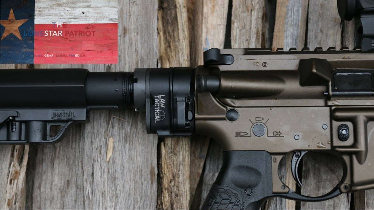 Law Tactical AR Folding Stock Adapter Gen3-M