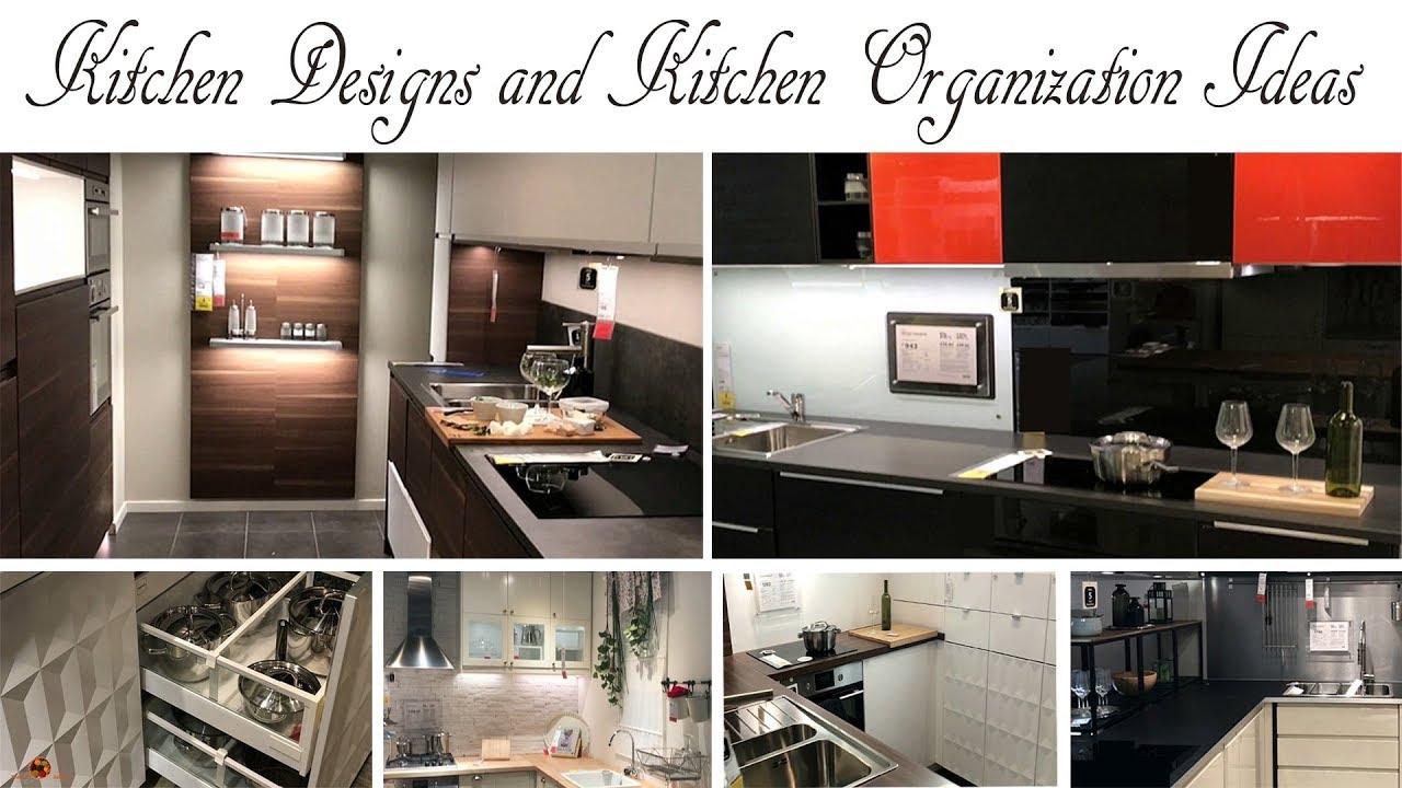 Kitchen organization ideas kitchen designs kitchen for Modular kitchen designs youtube