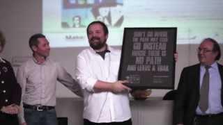 Massimo Banzi (Arduino) star mondiale dell'hi tech all'ITI Fermi Desio dove si era diplomato