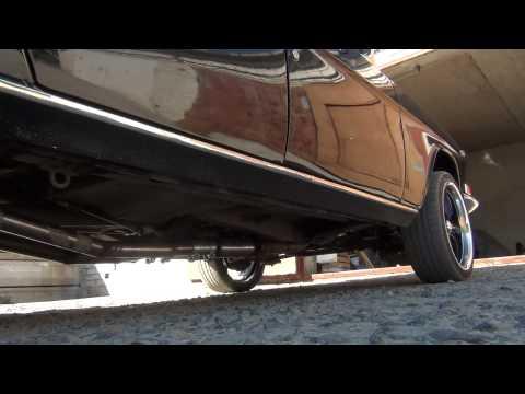газ 24 V8 выхлоп Flowmaster Super 10