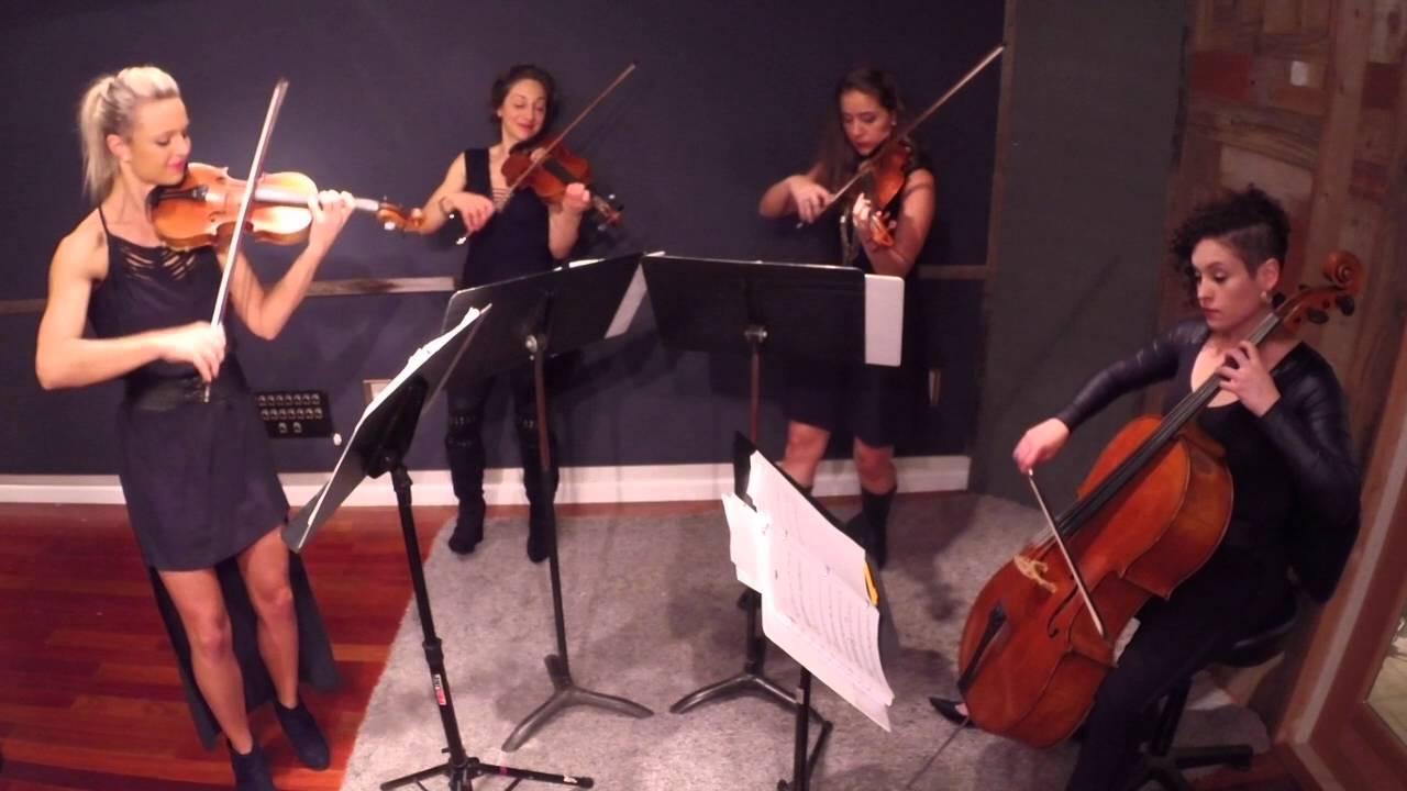 Eclecta Quartet is blasting off!