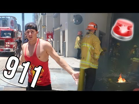 MY APARTMENT CAUGHT ON FIRE!!! (ALMOST DIED)
