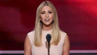 Ivanka Trump makes a push for women