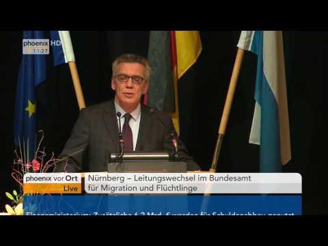 Leitungswechsel im Bundesamt für Migration und Flüchtlinge (BAMF) am  12.01.2017