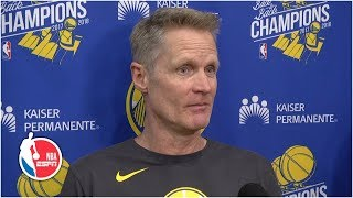 Warriors would like to have everyone healthy for NBA Finals – Steve Kerr | 2019 NBA Playoffs