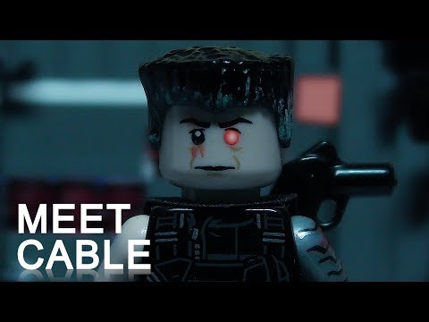 Deadpool, Meet Cable IN LEGO