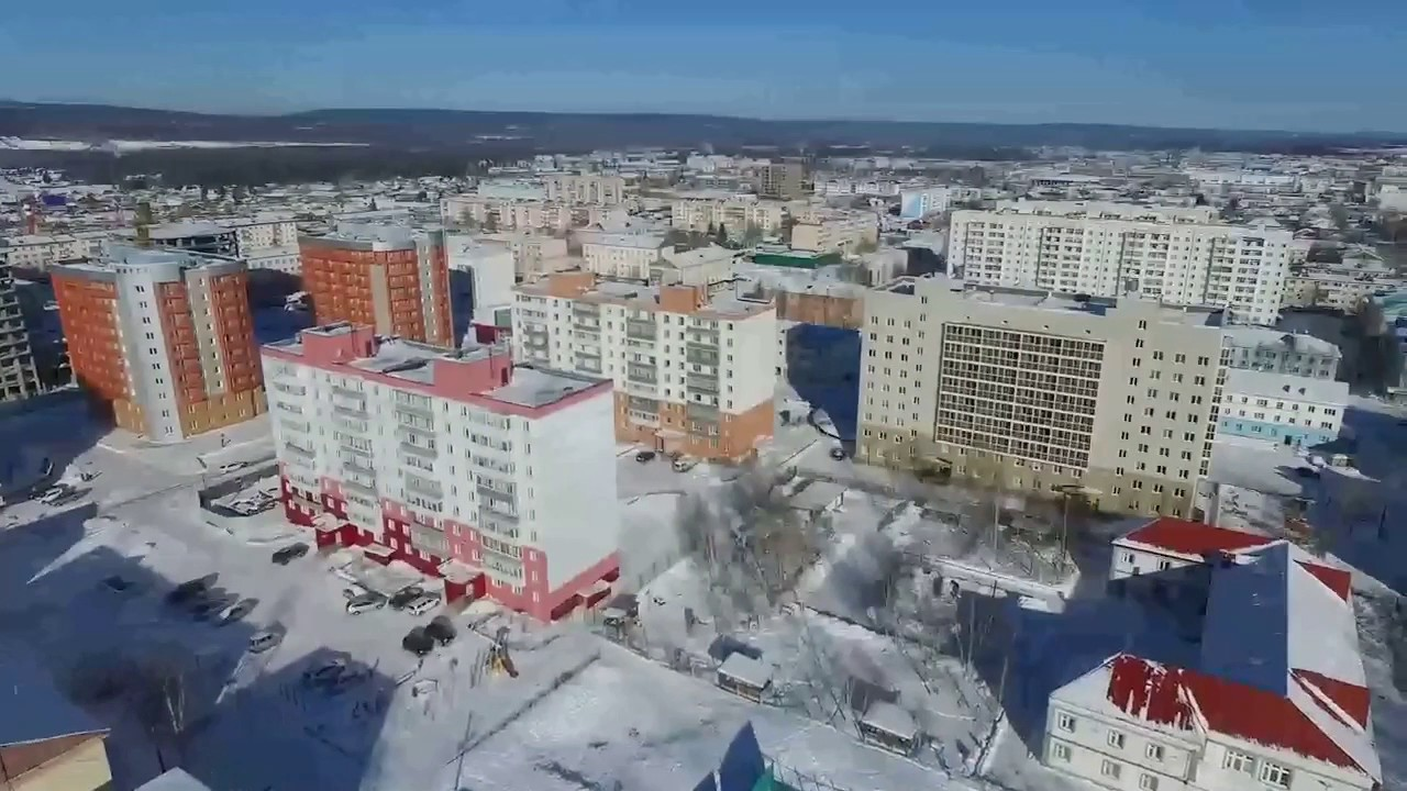 Фото ленск зима