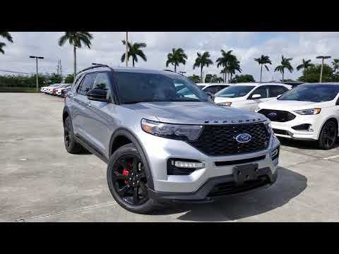 2020 Ford Explorer ST up close walkaround new 3.0 TwinTurbo V6 400HP 4WD