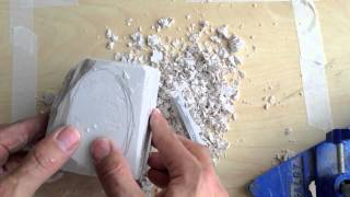 Carving in Plaster - part 1