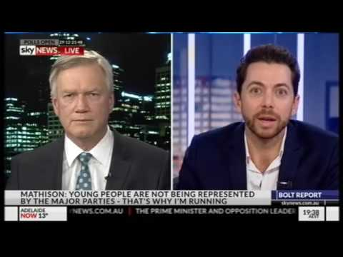 Australian Idol Host James Mathison Explains How To Tackle ISIS