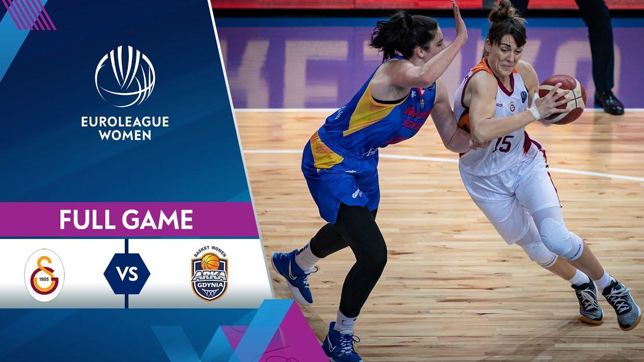 LIVE - Galatasaray v VBW Arka Gdynia | EuroLeague Women 2021-22