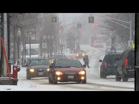 Spring storm wallops Atlantic Canada with winter weather