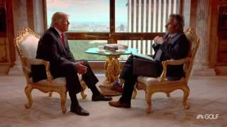 trump tells golf channel s david feherty he may or may not use a prompter at convention