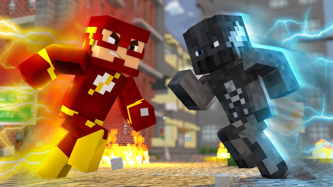 Sou yotuber minecraft flash vs zoom batalha de boss portugapc ccuart Gallery