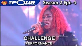 Ali Caldwell sings  Set Fire To The Rain | The Four Season 2 Ep. 4 S2E4