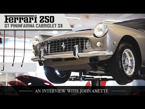 Ferrari 250 GT Cabriolet Series II: An Interview With John Amette