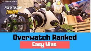 EASY WINS - Overwatch Ranked Season 11 Gameplay