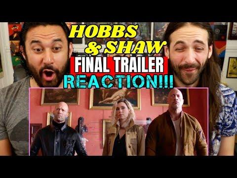 HOBBS & SHAW   FINAL TRAILER - REACTION!!!