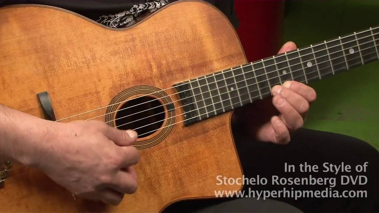 Stochelo Rosenberg Gypsy Jazz Guitar Lesson DVD Excerpt ...