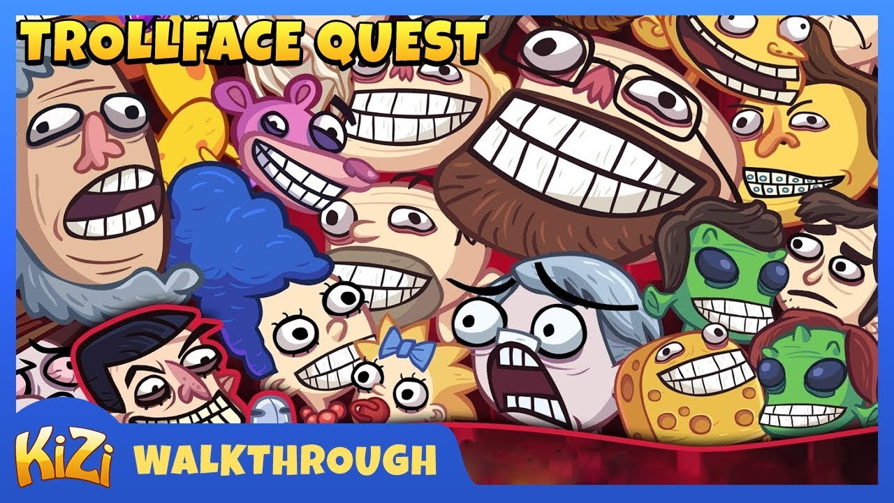 Kizi Games Trollface Quest Gameplay Youtube