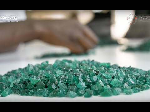 KAGEM in ZAMBIA, The World's Largest Emerald Mine.