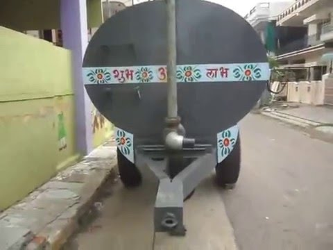 Water Tanker Trolley, - Agriculture Machines in India