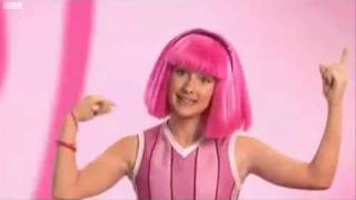 Grown Stephanie Teaches us Lazy Town Moves