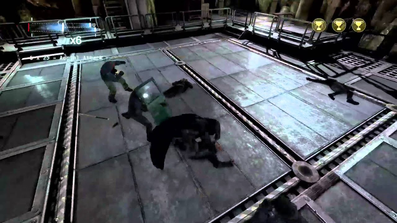 Batman: Arkham Origins Official Gameplay Walkthrough - YouTube