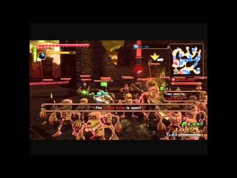 Hyrule Warriors - Lana saves Hyrule