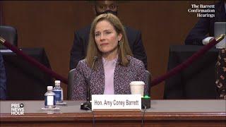 WATCH: Sen. Dick Durbin questions Supreme Court nominee Amy Coney Barrett